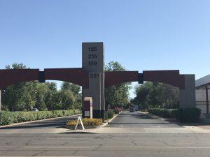 CHC Entrance Driveway